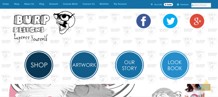 burpdesigns homepage 720x321 Dehradun based BURP Designs gets your Apparel ready with most Amazing and Unique graphics