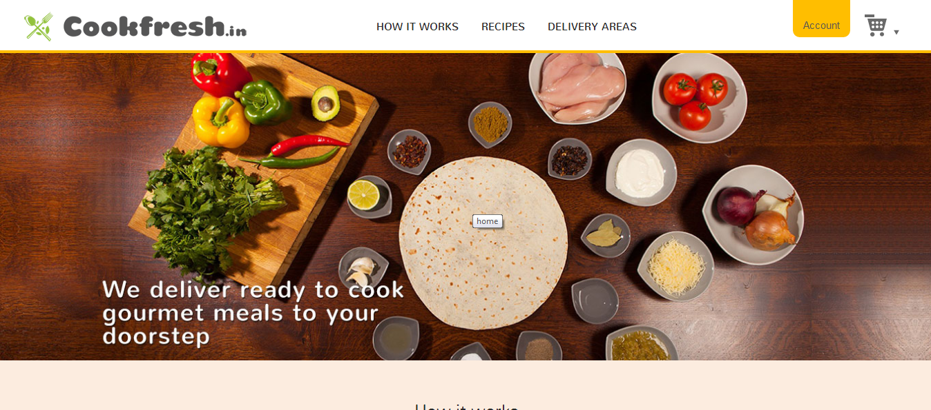 Delhi based Cookfresh delivers all you need to cook gourmet meals to your doorstep