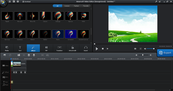 jhbg Aimersoft Video Editor | Complexity Simplified