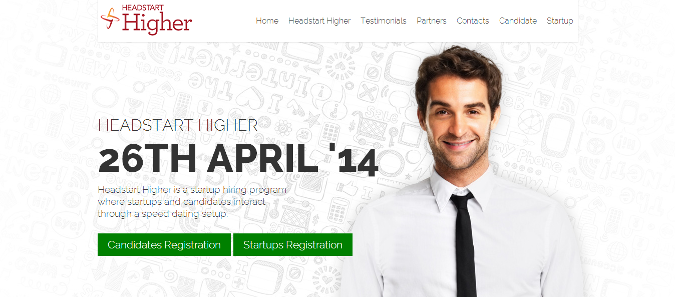 Startup Hiring made easy -  HeadStart Higher Bangalore on April 26th