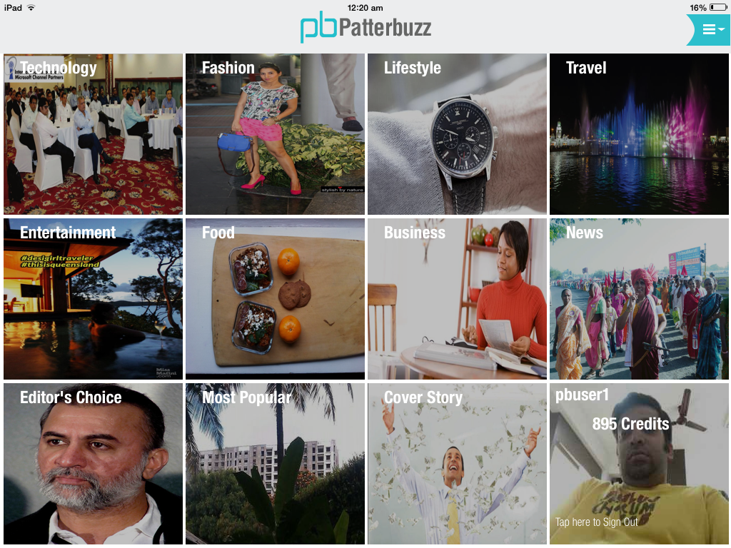 Patterbuzz helps you to pay and read only the articles you like from Magazines