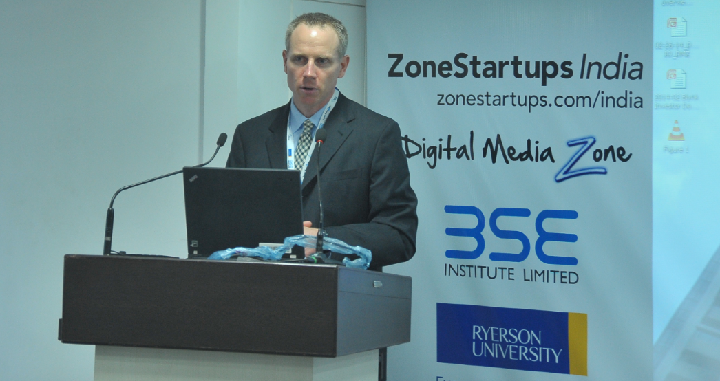 Interview with Matthew Saunders, President Ryerson Futures Inc on Zone Startups India