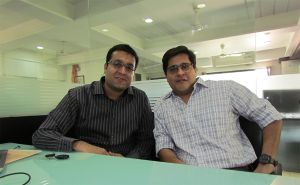 Manish Shewarmani(L) and Prashant Pandya(R)