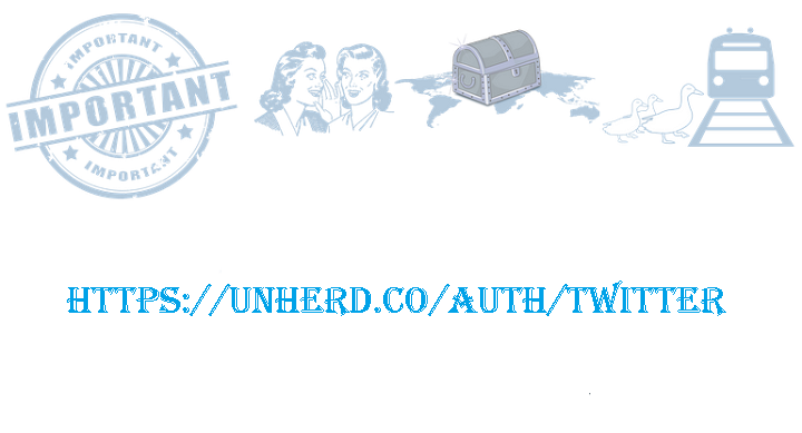 Keep Calm, let Unherd.co find tweets for you