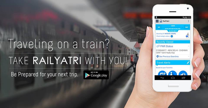Never Miss A Train With RailYatri App