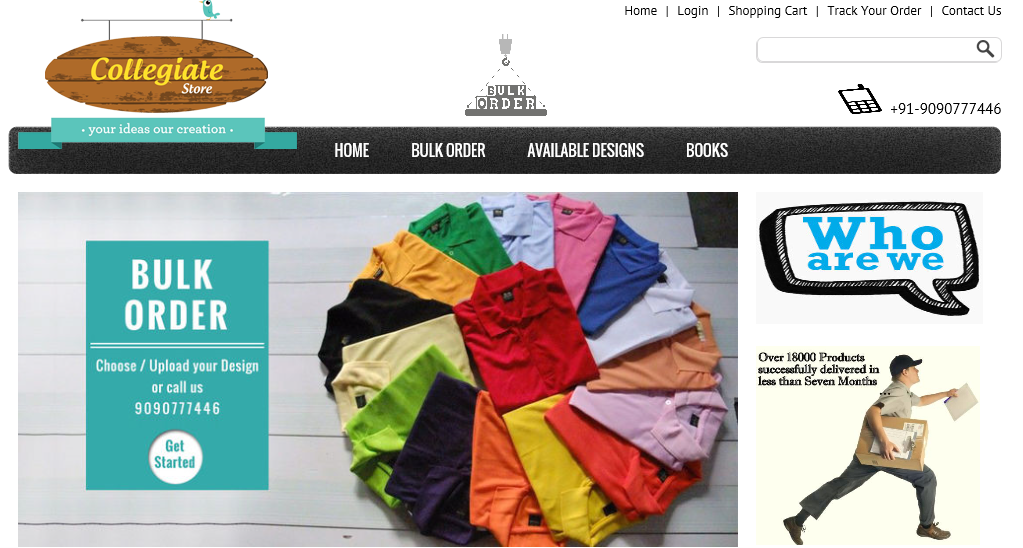 collegiatestore How Odisha Custom Merchandize Startup Collegiatestore bagged their first International Client in less than 3 months