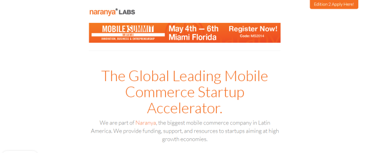 naranya 720x300 Global Mobile Accelerator Naranya*LABS announces startups to participate in Acceleration Program Edition 2