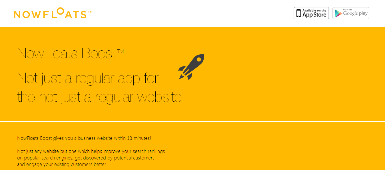 SMEs can now create their website in 13 minutes with Free NowFloats Boost App