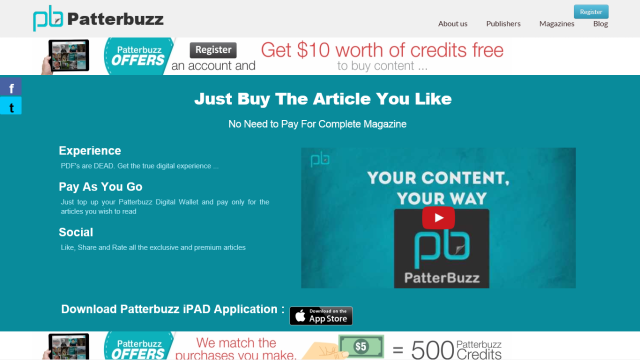 patterbuzz 640x360 Patterbuzz helps you to pay and read only the articles you like from Magazines