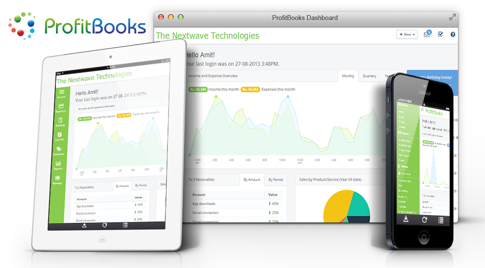 ProfitBooks: Accounting in the Simplest Way Possible