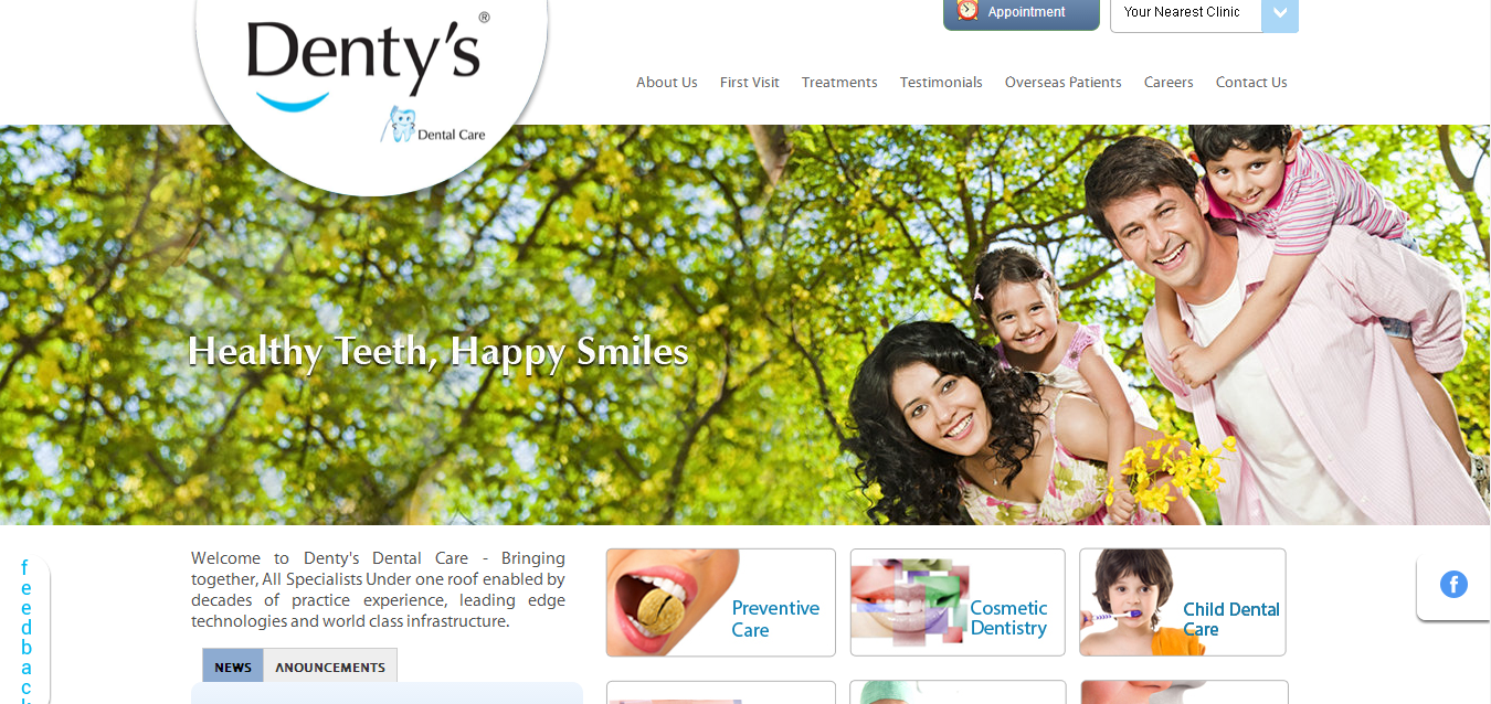 Helion invests INR 27 Crores in Dental Care Chain Denty's, third investment in the Healthcare Segment