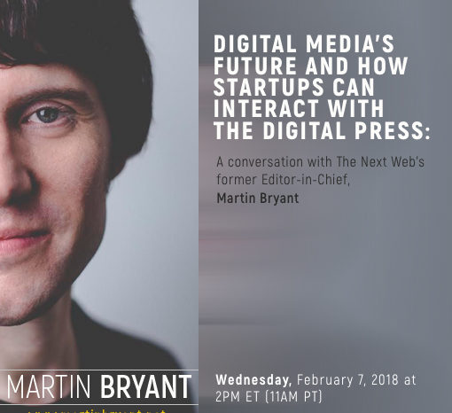 Publicize to host webinar with digital media expert Martin Bryant