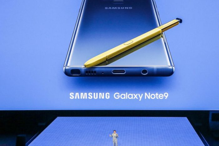 Samsung Launches its Latest Smartphone: Galaxy Note 9