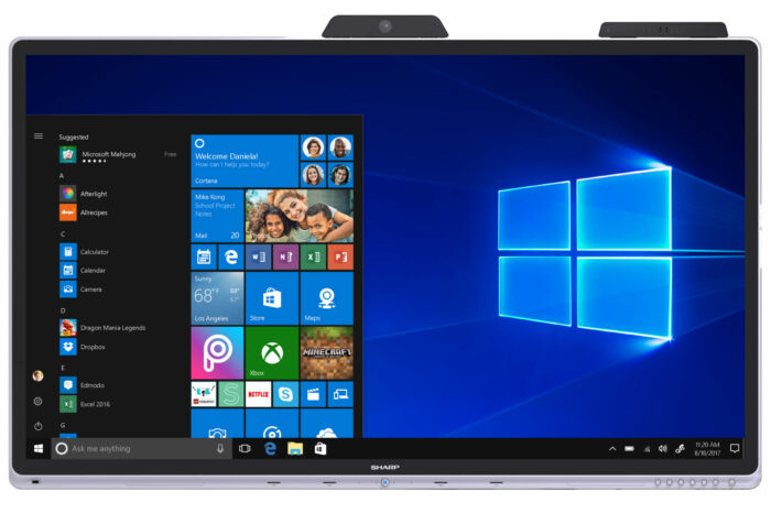 {Gadget Launch: Windows Collaboration Display} A Next Gen Interactive Display from SHARP in Association with Microsoft