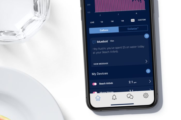 {Gadget Watch: bluebot} IoT Based Water Consumption Tracker Through Smartphone