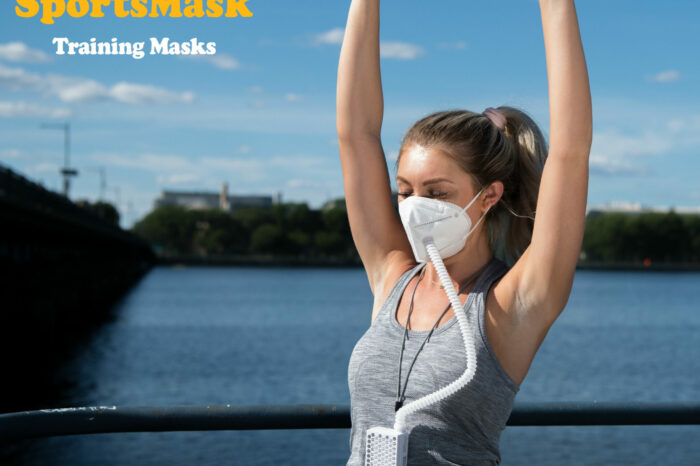 {Wonder Product: SportsMask} A Ventilating Oxygen Tube Fitted Mask Equipped with a HEPA Filter