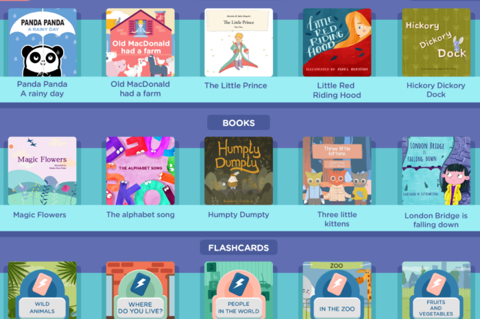 {EdTech App: BOOKR Kids} Interactive Educational Apps Based on Storytelling