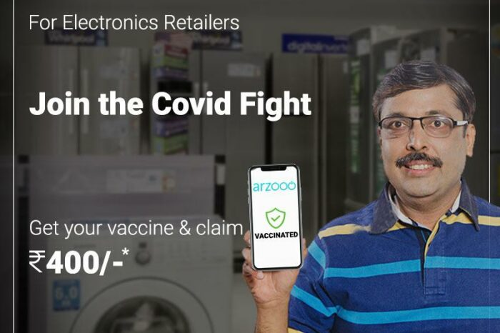 B2B retail tech startup Arzooo rolls out vaccination drive for electronics shopownerswith INR400 incentive