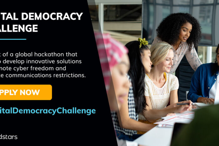 Event alert: A global startup hackathon for joining the fight for digital democracy