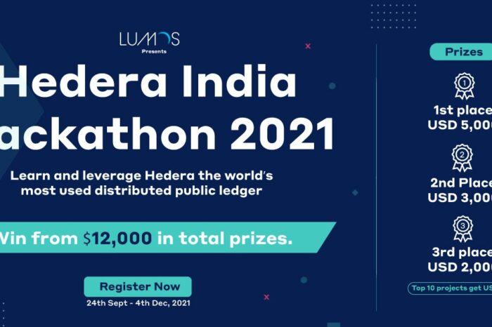 Event alert: Hedera India Hackathon 2021 to unearth enterprise-ready distributed ledger solutions for industry